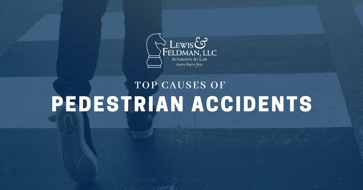 What are the Top Causes of Pedestrian Accidents?