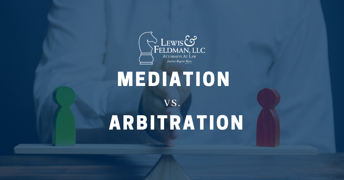 Mediation vs. Arbitration