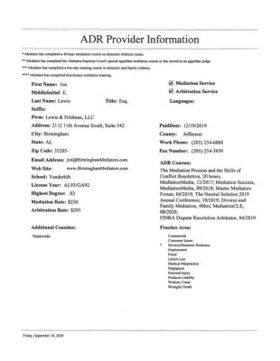 Lewis&Feldman-ADRProviderInformation